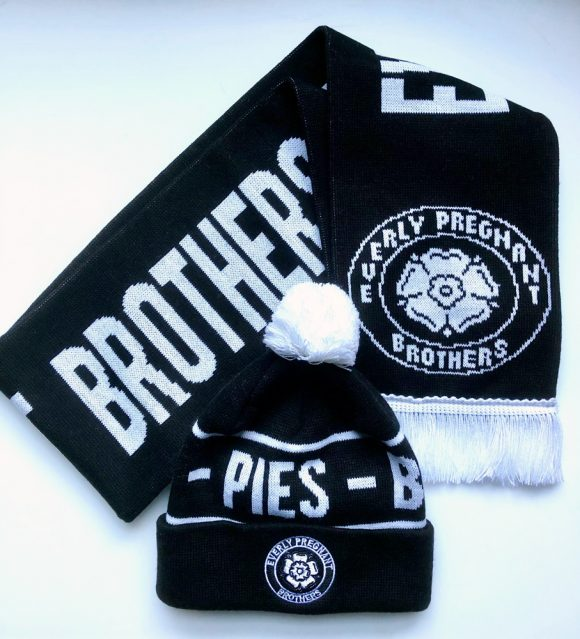 Everly Pregnant Brothers - hat & scarf SET